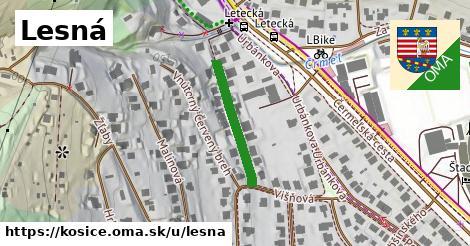 ilustrácia k Lesná, Košice - 207m
