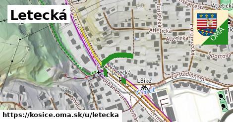 ilustrácia k Letecká, Košice - 145m