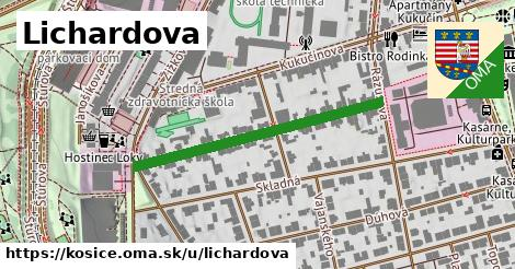 ilustrácia k Lichardova, Košice - 372m