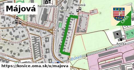 ilustrácia k Májová, Košice - 299m