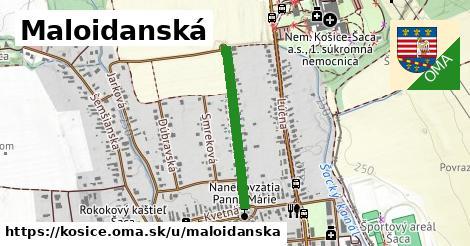 ilustračný obrázok k Maloidanská, Košice