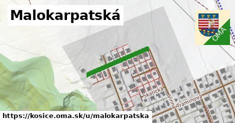 ilustrácia k Malokarpatská, Košice - 479m