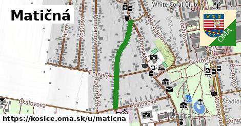 ilustrácia k Matičná, Košice - 562m
