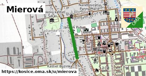 ilustračný obrázok k Mierová, Košice