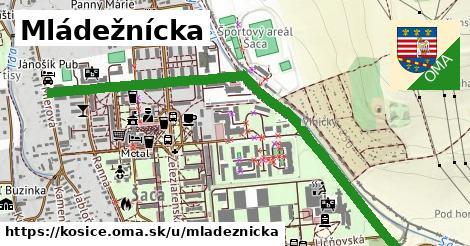 ilustrácia k Mládežnícka, Košice - 1,38km