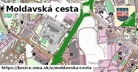 ilustrácia k Moldavská cesta, Košice - 4,3km