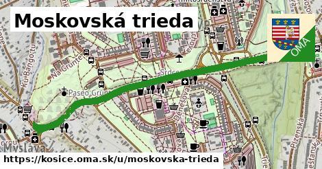 ilustrácia k Moskovská trieda, Košice - 1,35km