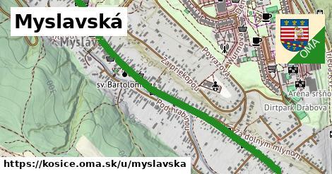 ilustrácia k Myslavská, Košice - 4,9km