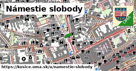 ilustrácia k Námestie slobody, Košice - 185m
