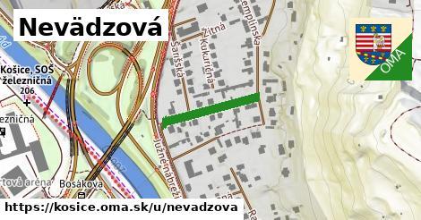 ilustrácia k Nevädzová, Košice - 458m
