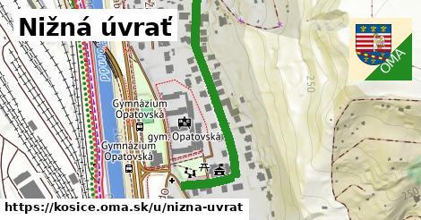 ilustrácia k Nižná úvrať, Košice - 447m