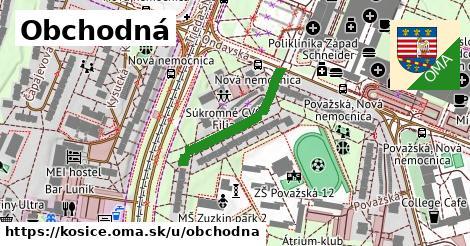 ilustračný obrázok k Obchodná, Košice