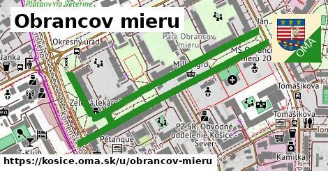 ilustrácia k Obrancov mieru, Košice - 1,09km