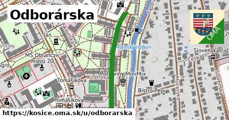 ilustrácia k Odborárska, Košice - 327m