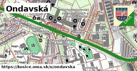 ilustrácia k Ondavská, Košice - 0,85km