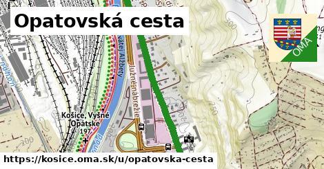 ilustrácia k Opatovská cesta, Košice - 2,3km