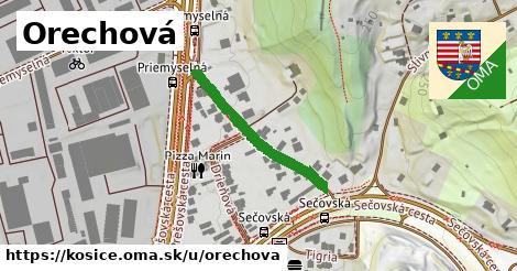 ilustrácia k Orechová, Košice - 252m