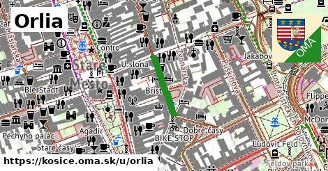 ilustrácia k Orlia, Košice - 133m