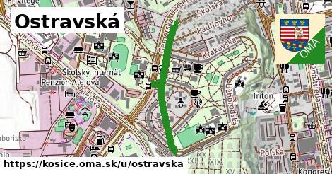 ilustrácia k Ostravská, Košice - 644m