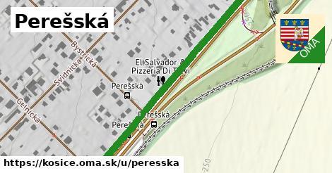 ilustračný obrázok k Perešská, Košice