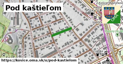 ilustrácia k Pod kaštieľom, Košice - 129m