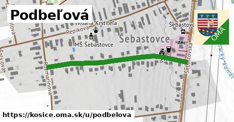 ilustrácia k Podbeľová, Košice - 452m