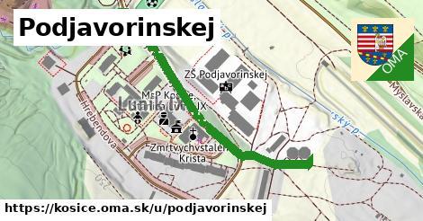 ilustračný obrázok k Podjavorinskej, Košice