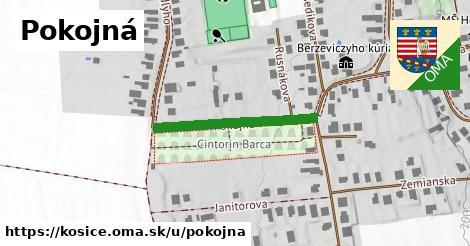 ilustrácia k Pokojná, Košice - 406m