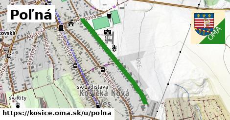 ilustrácia k Poľná, Košice - 644m