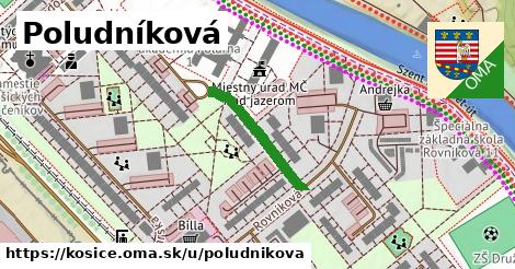 ilustračný obrázok k Poludníková, Košice