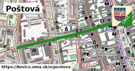 ilustrácia k Poštová, Košice - 561m