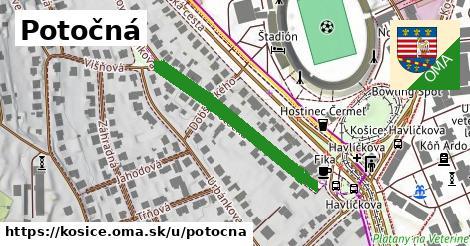 ilustrácia k Potočná, Košice - 338m