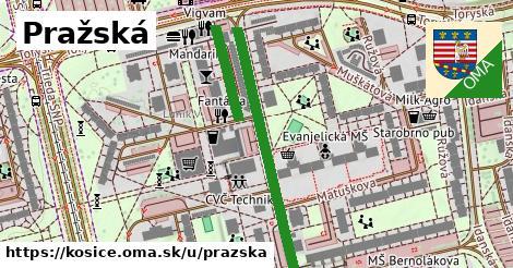 ilustrácia k Pražská, Košice - 525m