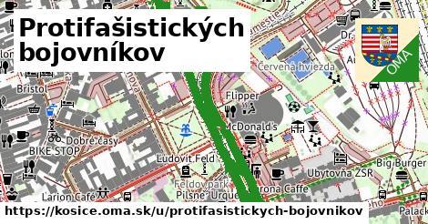 ilustrácia k Protifašistických bojovníkov, Košice - 1,01km
