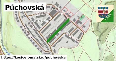 ilustrácia k Púchovská, Košice - 199m