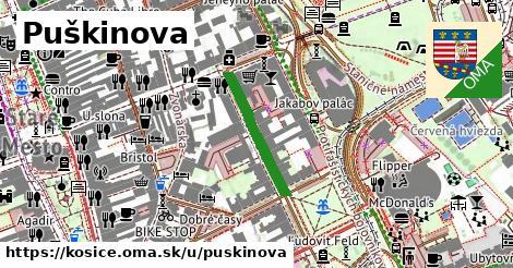 ilustrácia k Puškinova, Košice - 204m