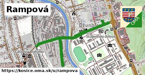 ilustrácia k Rampová, Košice - 1,28km