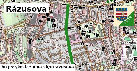 ilustrácia k Rázusova, Košice - 0,70km