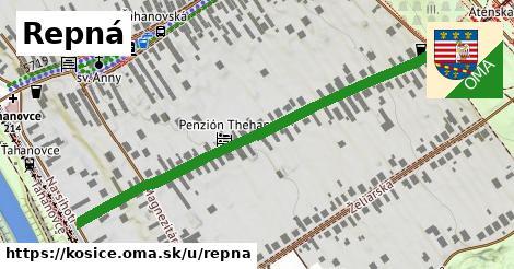 ilustrácia k Repná, Košice - 579m
