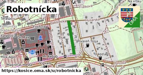 ilustrácia k Robotnícka, Košice - 466m