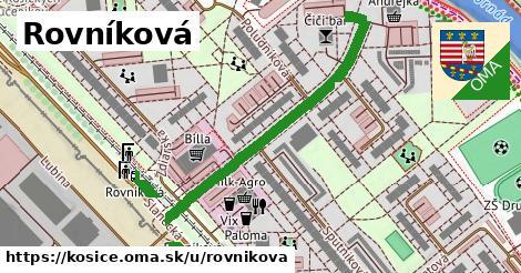 ilustračný obrázok k Rovníková, Košice