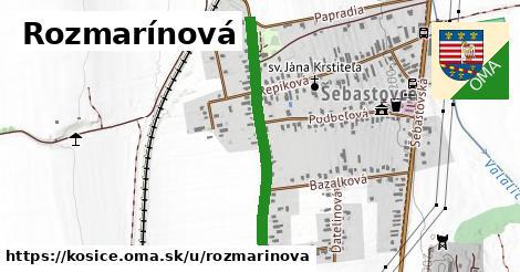 ilustrácia k Rozmarínová, Košice - 684m