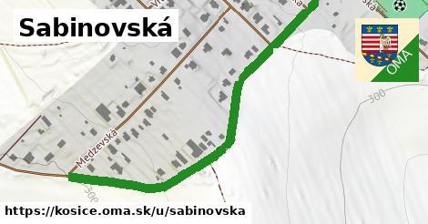 ilustrácia k Sabinovská, Košice - 672m