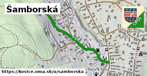 ilustrácia k Šamborská, Košice - 468m