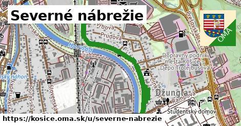 ilustrácia k Severné nábrežie, Košice - 0,93km