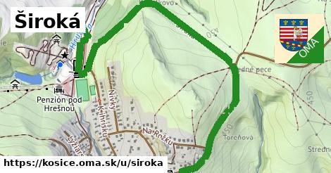 ilustrácia k Široká, Košice - 516m