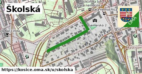 ilustračný obrázok k Školská, Košice