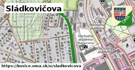 ilustrácia k Sládkovičova, Košice - 452m