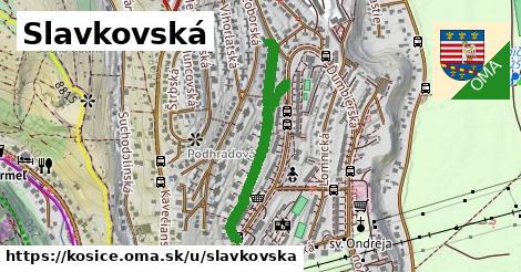 ilustrácia k Slavkovská, Košice - 0,71km