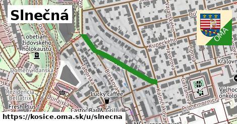 ilustračný obrázok k Slnečná, Košice